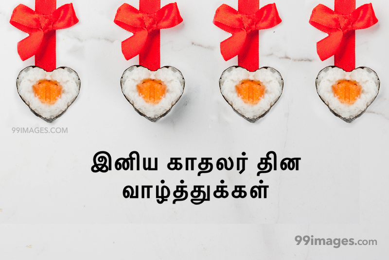 [14 February 2020] Happy Valentines Day in Tamil (kadhalar dhinam vazhthukkal) Romantic Heart Images, Wishes, Love Quotes, Messages (302645) - Valentine's Day