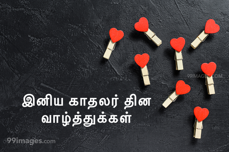 [14 February 2020] Happy Valentines Day in Tamil (kadhalar dhinam vazhthukkal) Romantic Heart Images, Wishes, Love Quotes, Messages (302586) - Valentine's Day