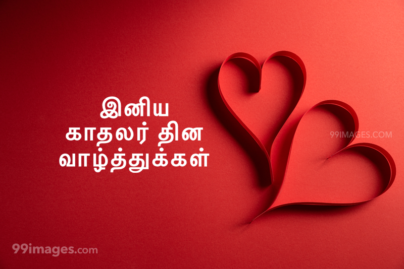 [14 February 2020] Happy Valentines Day in Tamil (kadhalar dhinam vazhthukkal) Romantic Heart Images, Wishes, Love Quotes, Messages (302583) - Valentine's Day