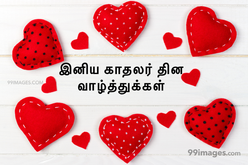 [14 February 2020] Happy Valentines Day in Tamil (kadhalar dhinam vazhthukkal) Romantic Heart Images, Wishes, Love Quotes, Messages (302610) - Valentine's Day