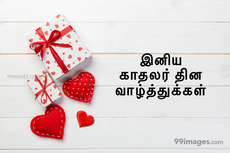 [14 February 2020] Happy Valentines Day in Tamil (kadhalar dhinam vazhthukkal) Romantic Heart Images, Wishes, Love Quotes, Messages (302589) - Valentine's Day