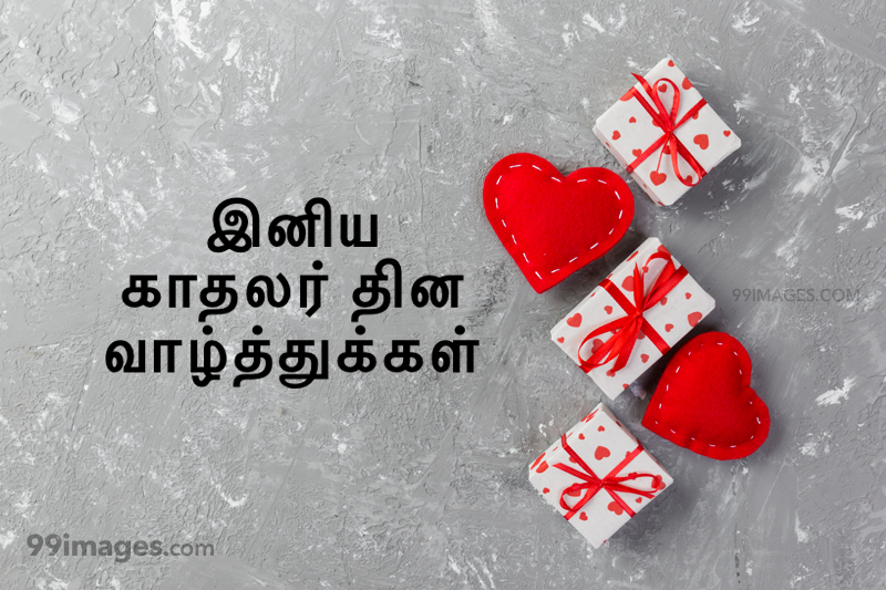 [14 February 2021] Happy Valentines Day in Tamil (kadhalar dhinam vazhthukkal) Romantic Heart Images, Wishes, Love Quotes, Messages (302633) - Valentine's Day