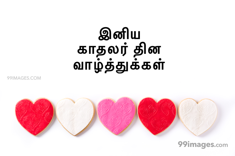 [14 February 2020] Happy Valentines Day in Tamil (kadhalar dhinam vazhthukkal) Romantic Heart Images, Wishes, Love Quotes, Messages (302541) - Valentine's Day
