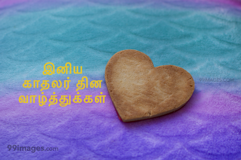 [14 February 2020] Happy Valentines Day in Tamil (kadhalar dhinam vazhthukkal) Romantic Heart Images, Wishes, Love Quotes, Messages (302540) - Valentine's Day