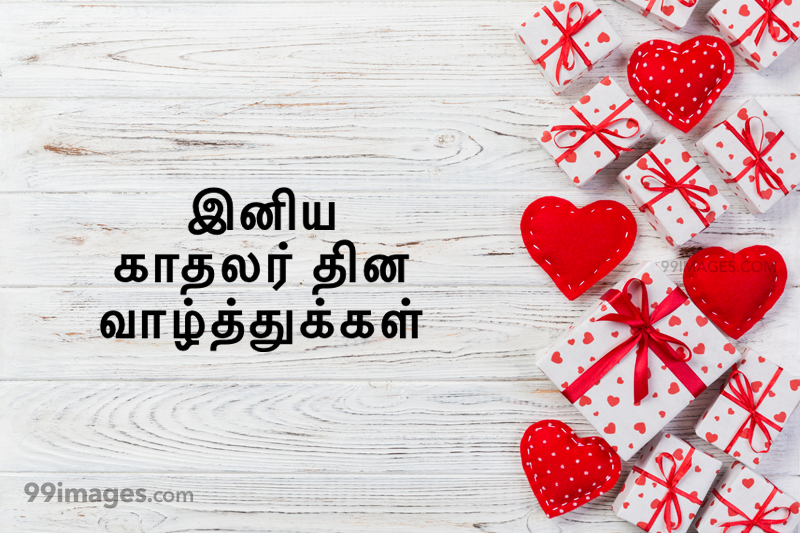 [14 February 2021] Happy Valentines Day in Tamil (kadhalar dhinam vazhthukkal) Romantic Heart Images, Wishes, Love Quotes, Messages (302564) - Valentine's Day