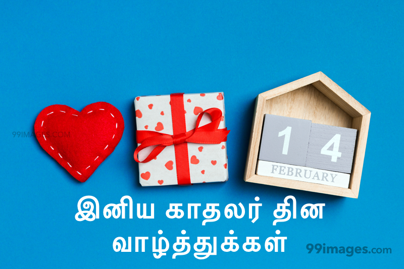 [14 February 2020] Happy Valentines Day in Tamil (kadhalar dhinam vazhthukkal) Romantic Heart Images, Wishes, Love Quotes, Messages (302612) - Valentine's Day