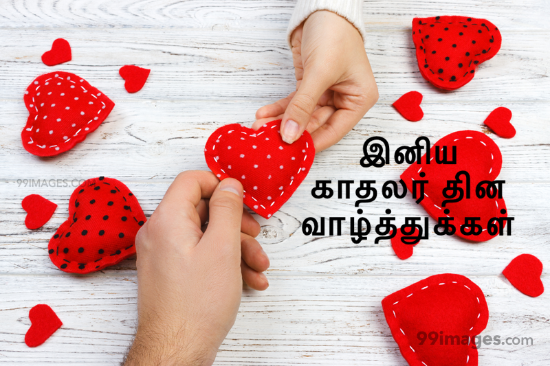 [14 February 2021] Happy Valentines Day in Tamil (kadhalar dhinam vazhthukkal) Romantic Heart Images, Wishes, Love Quotes, Messages (302642) - Valentine's Day