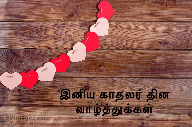 [14 February 2020] Happy Valentines Day in Tamil (kadhalar dhinam vazhthukkal) Romantic Heart Images, Wishes, Love Quotes, Messages (302575) - Valentine's Day