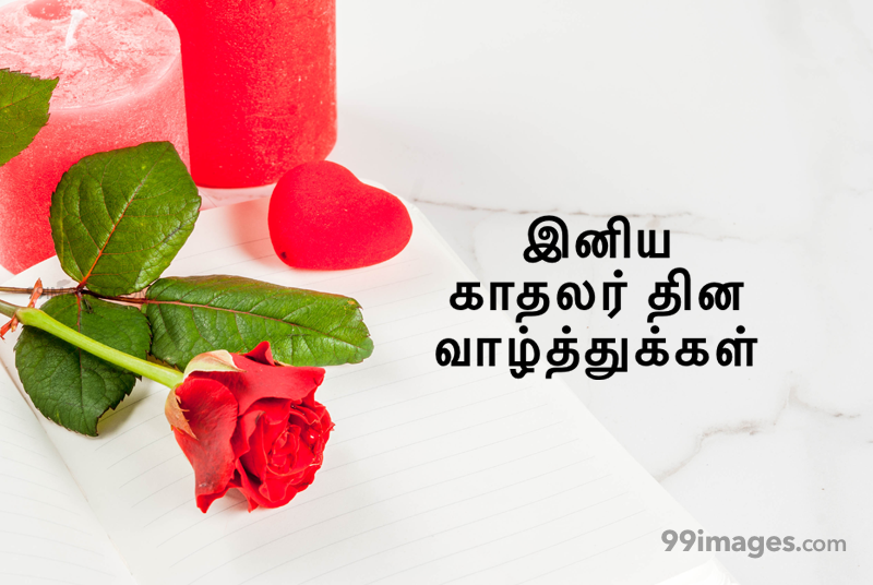 [14 February 2021] Happy Valentines Day in Tamil (kadhalar dhinam vazhthukkal) Romantic Heart Images, Wishes, Love Quotes, Messages (302617) - Valentine's Day