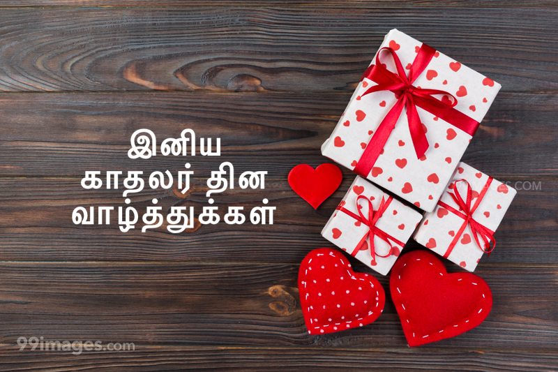 [14 February 2021] Happy Valentines Day in Tamil (kadhalar dhinam vazhthukkal) Romantic Heart Images, Wishes, Love Quotes, Messages (302546) - Valentine's Day