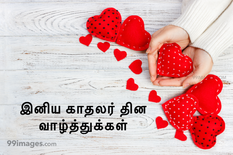 [14 February 2020] Happy Valentines Day in Tamil (kadhalar dhinam vazhthukkal) Romantic Heart Images, Wishes, Love Quotes, Messages (302549) - Valentine's Day