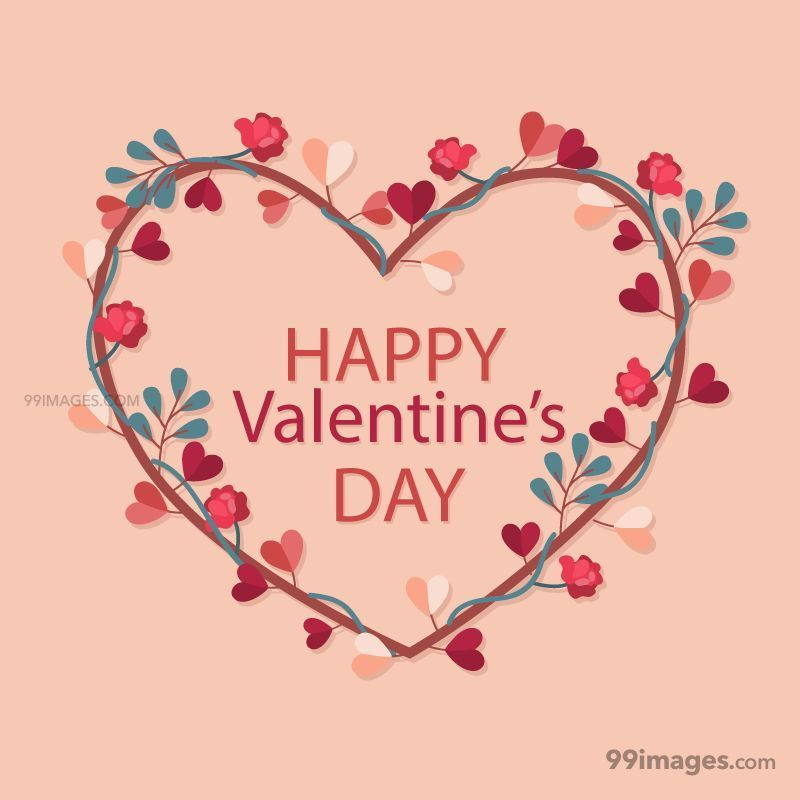 [14 February 2020] Happy Valentines Day Romantic Heart Images, Wishes, Love Quotes, Messages (Hearts / Gifts / Flowers / Chocolates / Cards / Gif) (137027) - Valentine's Day