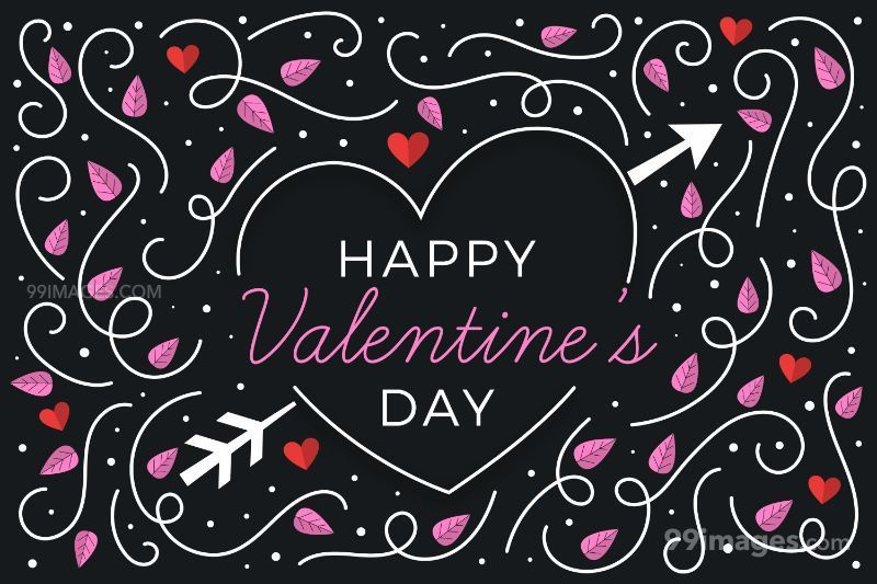[14 February 2020] Happy Valentines Day Romantic Heart Images, Wishes, Love Quotes, Messages (Hearts / Gifts / Flowers / Chocolates / Cards / Gif) (307554) - Valentine's Day