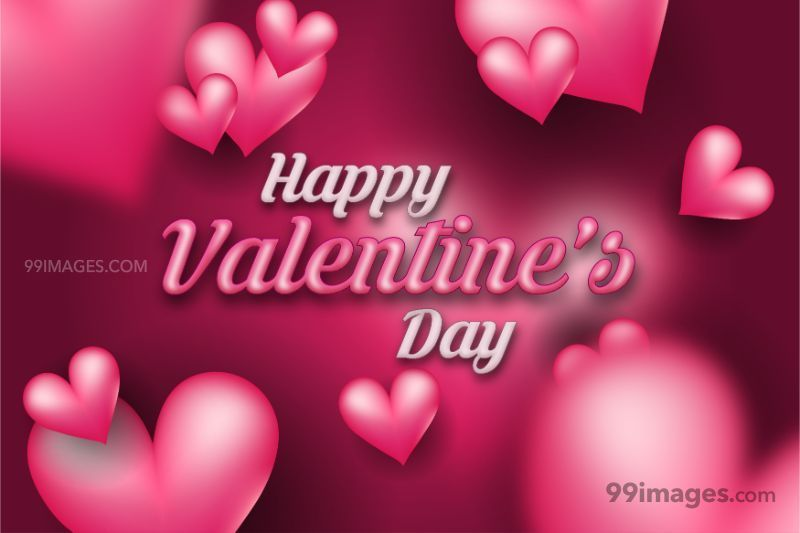[14 February 2021] Happy Valentines Day Romantic Heart Images, Wishes, Love Quotes, Messages (Hearts / Gifts / Flowers / Chocolates / Cards / Gif) (182805) - Valentine's Day