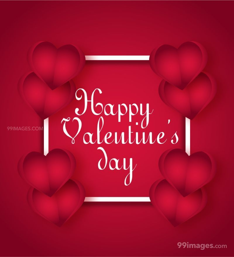 [14 February 2020] Happy Valentines Day Romantic Heart Images, Wishes, Love Quotes, Messages (Hearts / Gifts / Flowers / Chocolates / Cards / Gif) (182766) - Valentine's Day