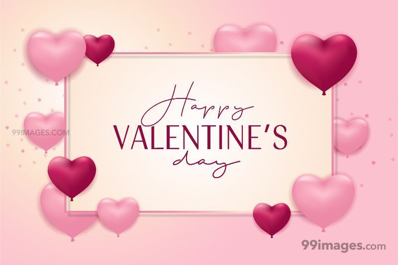 [14 February 2020] Happy Valentines Day Romantic Heart Images, Wishes, Love Quotes, Messages (Hearts / Gifts / Flowers / Chocolates / Cards / Gif) (182765) - Valentine's Day