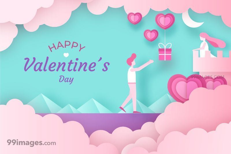 [14 February 2020] Happy Valentines Day Romantic Heart Images, Wishes, Love Quotes, Messages (Hearts / Gifts / Flowers / Chocolates / Cards / Gif) (307553) - Valentine's Day