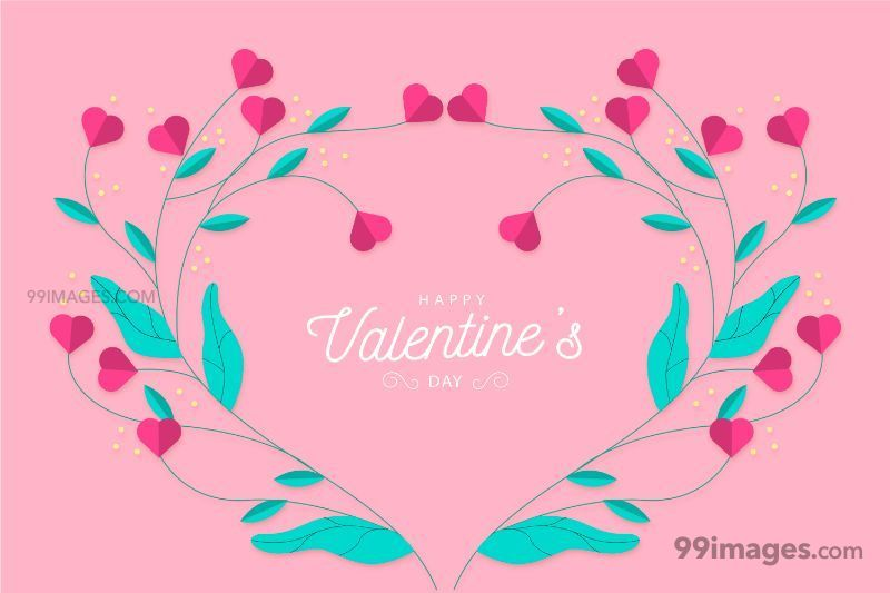 [14 February 2020] Happy Valentines Day Romantic Heart Images, Wishes, Love Quotes, Messages (Hearts / Gifts / Flowers / Chocolates / Cards / Gif) (182906) - Valentine's Day