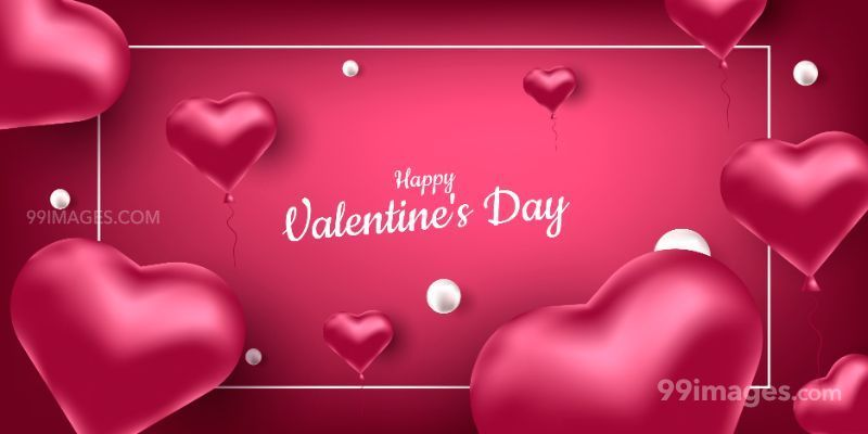 [14 February 2020] Happy Valentines Day Romantic Heart Images, Wishes, Love Quotes, Messages (Hearts / Gifts / Flowers / Chocolates / Cards / Gif) (182808) - Valentine's Day