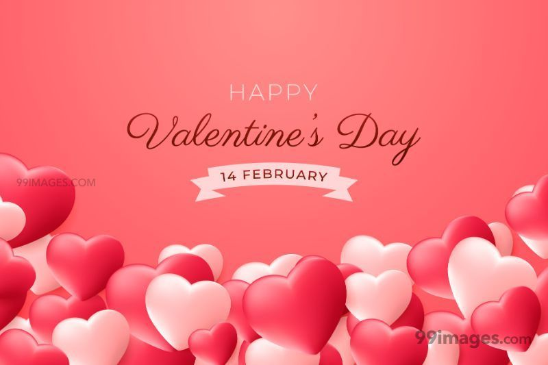 [14 February 2020] Happy Valentines Day Romantic Heart Images, Wishes, Love Quotes, Messages (Hearts / Gifts / Flowers / Chocolates / Cards / Gif) (307473) - Valentine's Day