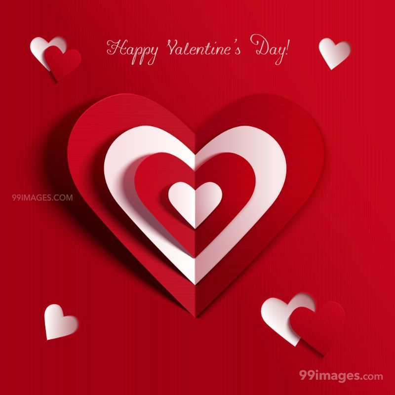 [14 February 2020] Happy Valentines Day Romantic Heart Images, Wishes, Love Quotes, Messages (Hearts / Gifts / Flowers / Chocolates / Cards / Gif) (182916) - Valentine's Day