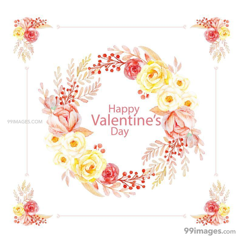 [14 February 2020] Happy Valentines Day Romantic Heart Images, Wishes, Love Quotes, Messages (Hearts / Gifts / Flowers / Chocolates / Cards / Gif) (137029) - Valentine's Day