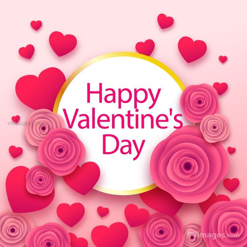 [14 February 2020] Happy Valentines Day Romantic Heart Images, Wishes, Love Quotes, Messages (Hearts / Gifts / Flowers / Chocolates / Cards / Gif) (137028) - Valentine's Day