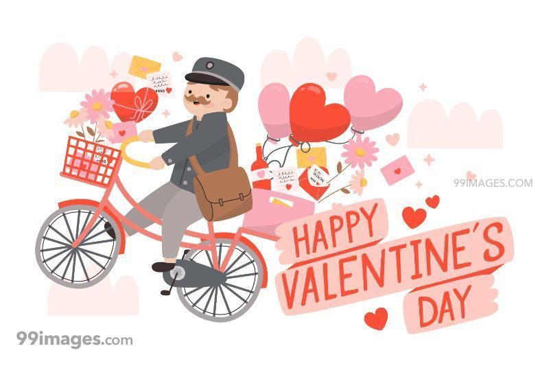 [14 February 2020] Happy Valentines Day Romantic Heart Images, Wishes, Love Quotes, Messages (Hearts / Gifts / Flowers / Chocolates / Cards / Gif) (182880) - Valentine's Day