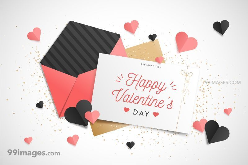 [14 February 2020] Happy Valentines Day Romantic Heart Images, Wishes, Love Quotes, Messages (Hearts / Gifts / Flowers / Chocolates / Cards / Gif) (182850) - Valentine's Day