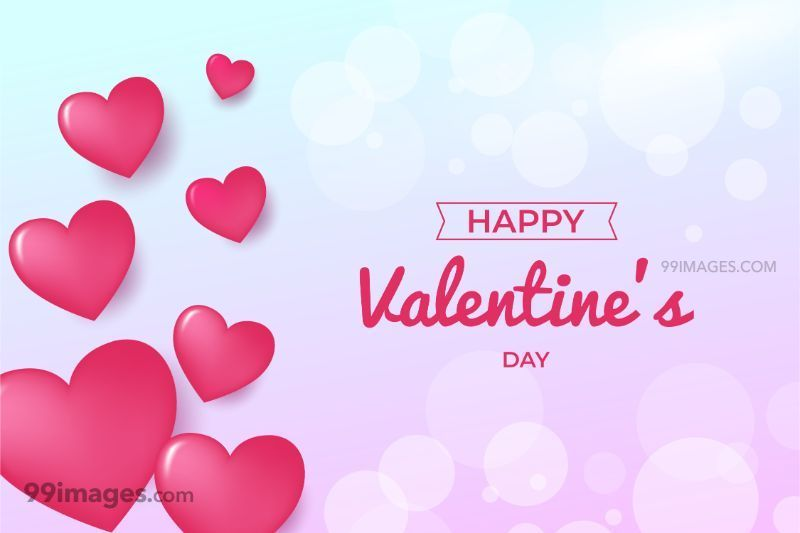 [14 February 2020] Happy Valentines Day Romantic Heart Images, Wishes, Love Quotes, Messages (Hearts / Gifts / Flowers / Chocolates / Cards / Gif) (182767) - Valentine's Day