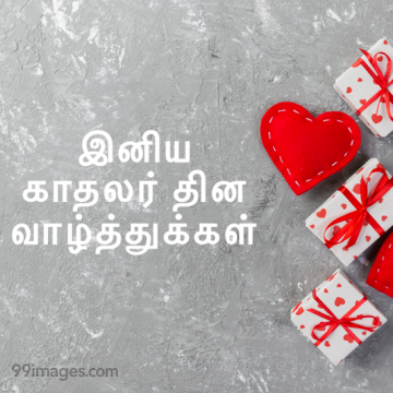 [14 February 2020] Happy Valentines Day in Tamil (kadhalar dhinam vazhthukkal) Romantic Heart Images, Wishes, Love Quotes, Messages