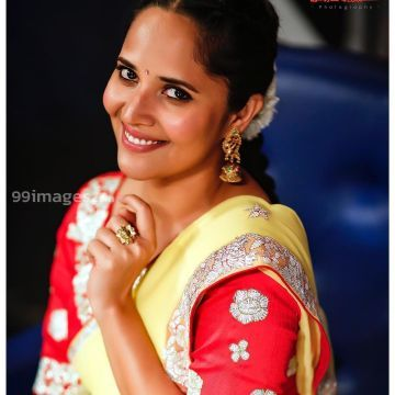 Anasuya Bharadwaj Beautiful HD Photos & Mobile Wallpapers HD (Android/iPhone) (1080p) - #31615