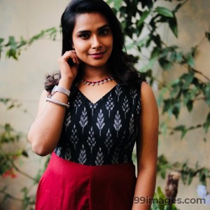 Hariteja Beautiful Photos & Mobile Wallpapers HD (Android/iPhone) (1080p) - hariteja,television anchor,television actress,hd photos