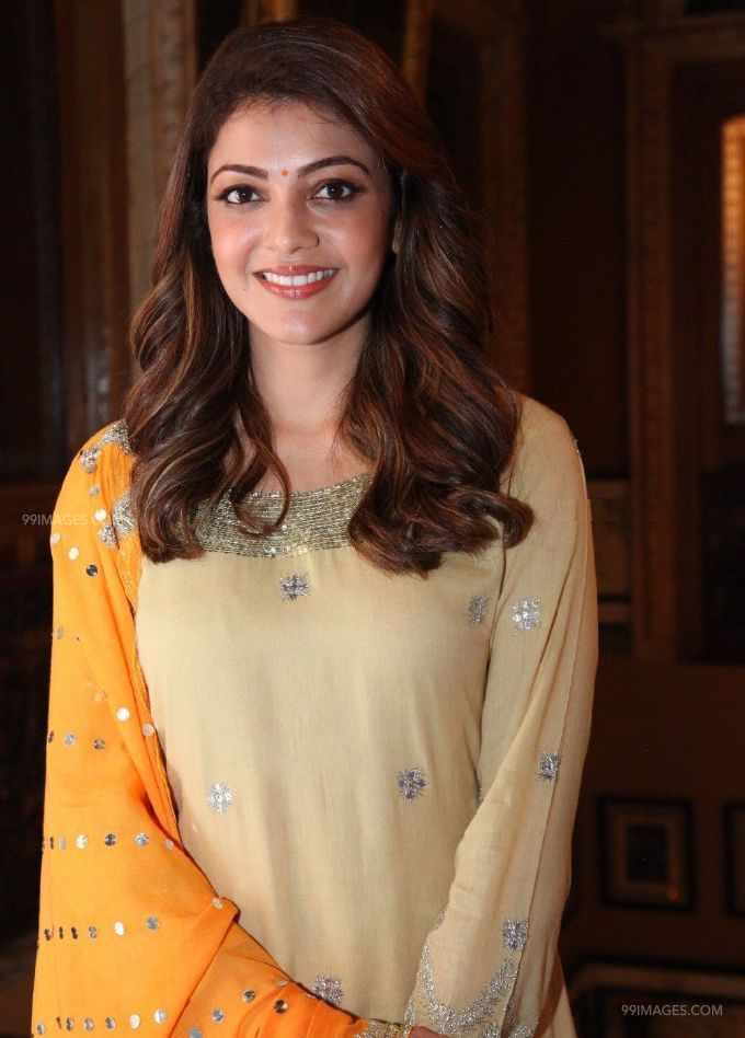 Kajal Agarwals beautiful yellow salwar photos (42962) - Kajal Agarwal
