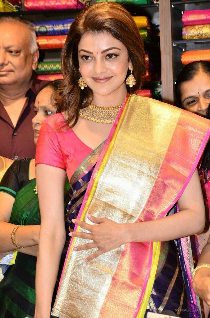 Kajal Agarwalss blue designer saree photos in HD Quality (kajal agarwal, kajal, kollywood, tollywood, mollywood, bollywood, actress) (42885) - Kajal Agarwal