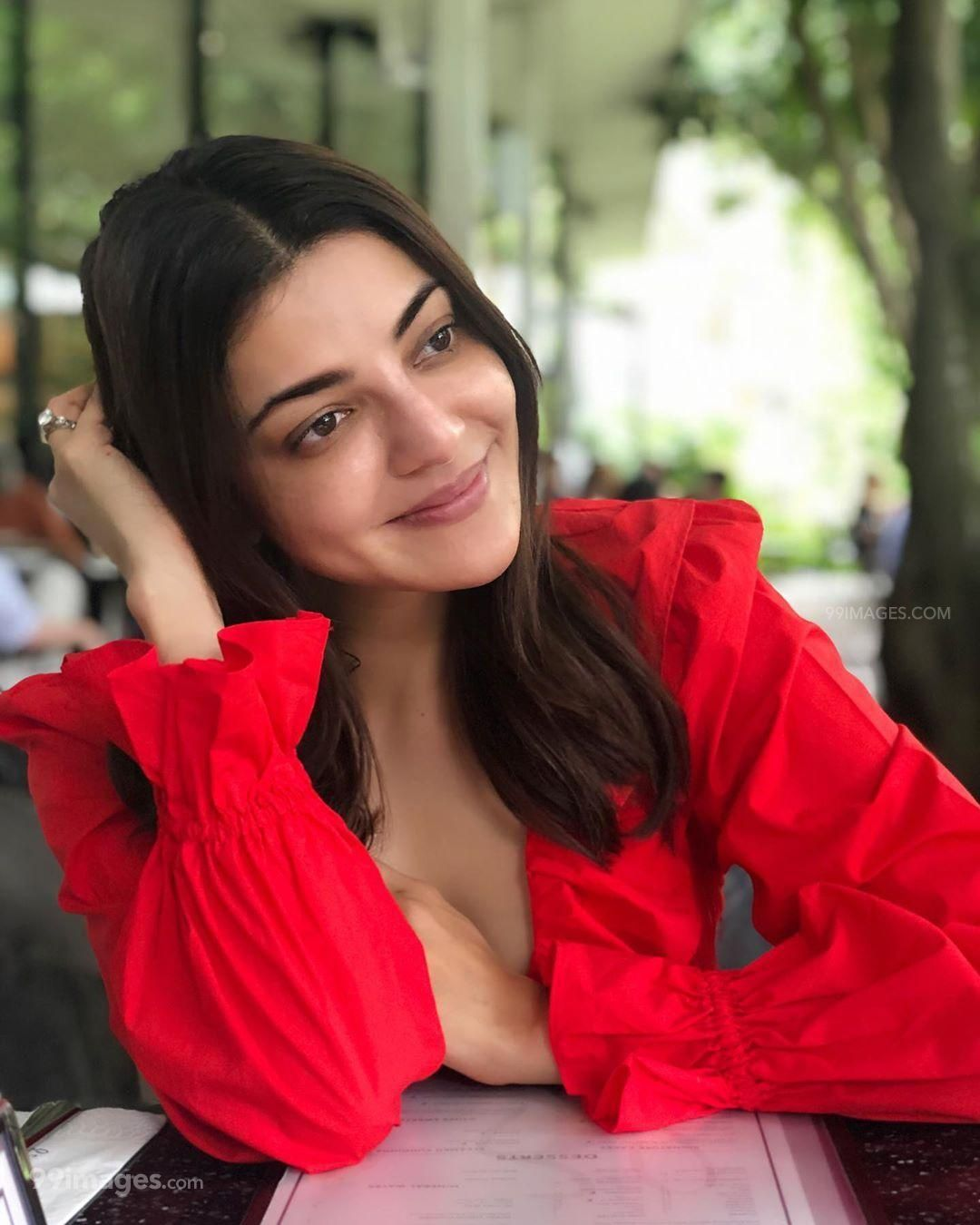 Kajal Agarwal Latest Hot HD Photoshoot Photos / Wallpapers in Saree, WhatsApp DP (1080p) (306589) - Kajal Agarwal