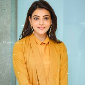 Kajal Agarwals latest beautiful yellow dress HD images