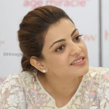 Kajal Agarwals beautiful white dress images