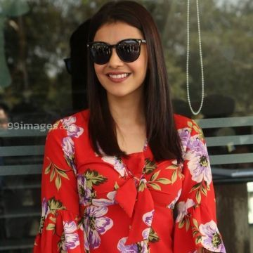 Kajal Agarwals latest cute red top HD  photos