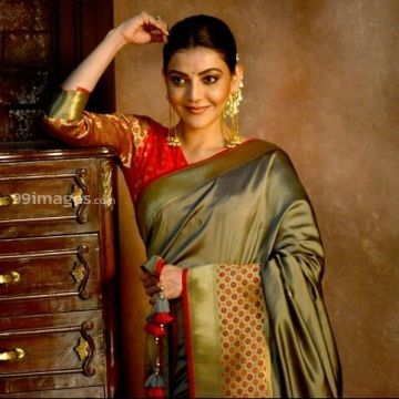 Kajal Agarwals traditioanl saree HD images (kajal agarwal, kajal, kollywood, tollywood, mollywood, bollywood, actress)