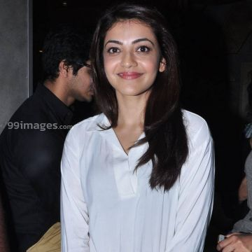 Kajal Agarwals latest white dress photos in HD Quality