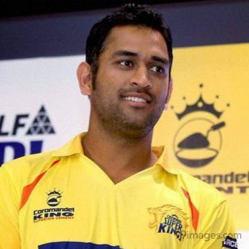 MS Dhoni 7 Looking at Sky Drawing Image / Wallpaper HD (ms dhoni, msd, captian, india, cricketer, wicket keeper)