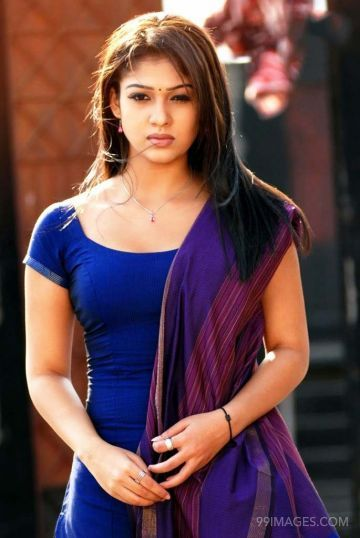 Nayantharas Latest Hot and Beautiful Photos in Salwar Suit (Churidar) (HD)