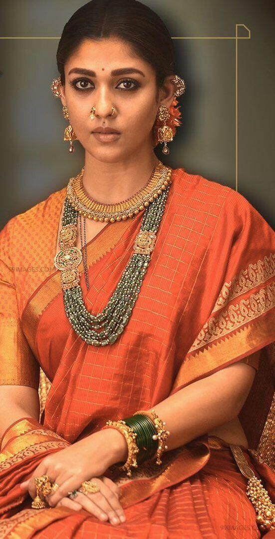 Nayanthara Traditional Saree Photos from Sye Raa Narasimha Reddy Movie (HD) (41343) - Nayanthara