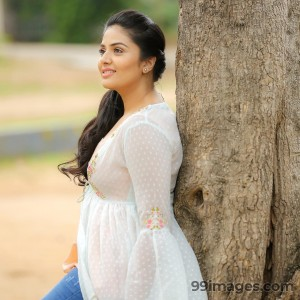 Sreemukhi Beautiful HD Photos & Mobile Wallpapers HD (Android/iPhone) (1080p) - #17863