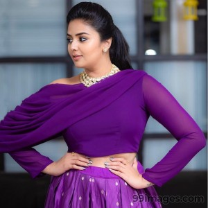 Sreemukhi Beautiful HD Photoshoot Stills & Mobile Wallpapers HD (1080p) - #17756