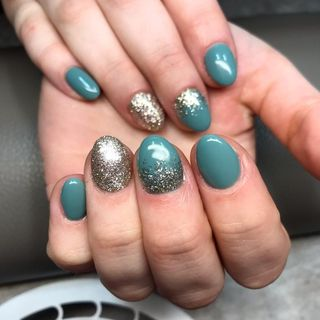Small Gel Summer Long Nail Designs  (#132605)