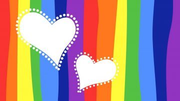 rainbow heartandroid iphone desktop hd backgrounds wallpapers 1080p 4k jcrda