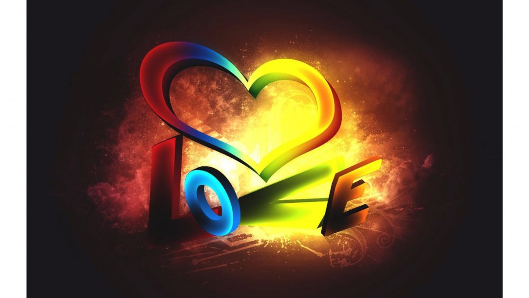 rainbow heartandroid iphone desktop hd backgrounds wallpapers 1080p 4k 3iv9r