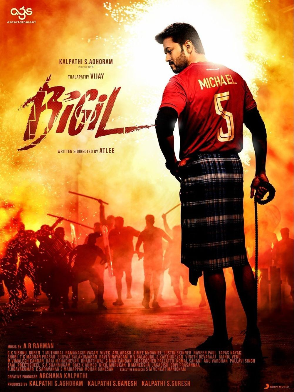 Bigil Movie Latest HD Photos & Posters, Wallpapers Download (1080p) (47101) - Bigil, Vijay, Nayanthara